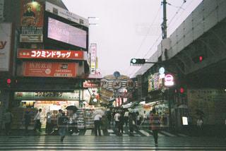 雨のアメ横 - No.1235844