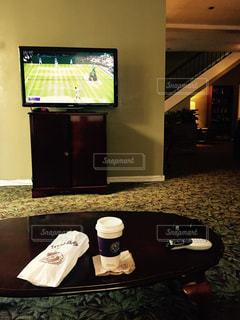 コーヒー,アメリカ,LA,モーニング,ドーナツ,素敵なリビング,ウインブルドン決勝