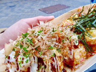 大阪,おいしい,美味しい,たこ焼き,食べ歩き,あったかい