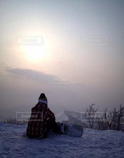 雪山頂上 - No.911832