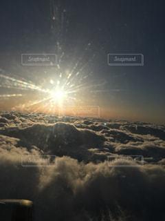 空には雲のグループ - No.1119664