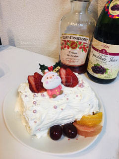 スイーツ,オレンジ,いちご,果物,クリスマス