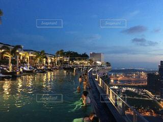 海外,シンガポール,マリーナベイサンズ,インフィニティプール