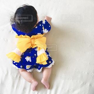 浴衣赤ちゃんの写真・画像素材[650239]