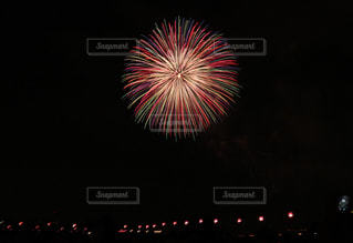 夜空,カラフル,花火,一輪,花火大会,お花,打ち上げ花火,EOSM10