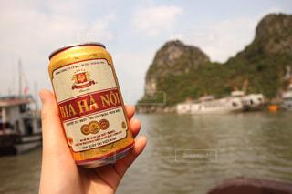 海,手,船,ビール,ベトナム,趣味,海外旅行,ハノイ,クルージング