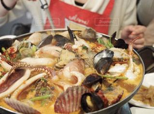 韓国釜山で食べた海鮮鍋!!の写真・画像素材[1757327]