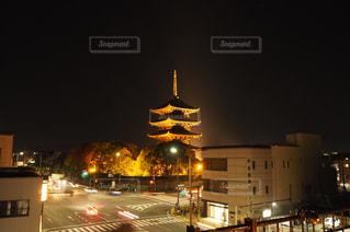 東寺トラフィックの写真・画像素材[1665564]
