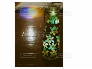 クローズ ボトルのアップの写真・画像素材[1235094]
