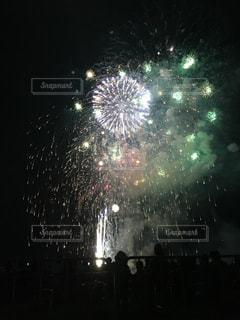 打ち上げ花火の写真・画像素材[750795]