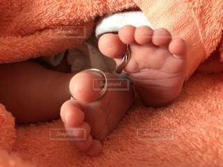 赤ちゃんの足の写真・画像素材[1657543]