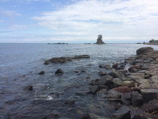 雨晴海岸の写真・画像素材[1399573]