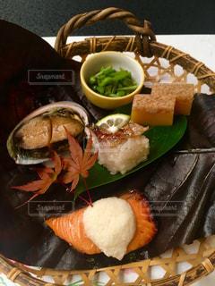 食品のプレートの写真・画像素材[1507223]