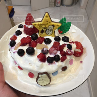 冬,クリスマス,手作り,クリスマスケーキ