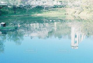 水の大きな体の写真・画像素材[1235177]