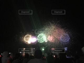 外,新潟,夏の夜,片貝花火