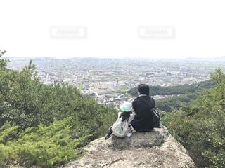 親子登山の写真・画像素材[765893]