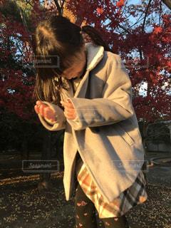 男と女の selfie を取っての写真・画像素材[1170850]