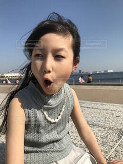 屋外,女の子,驚いた顔,神戸,ビックリ,兵庫