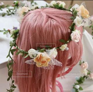 花のかんむりの写真・画像素材[2123393]
