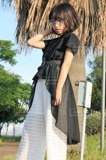 サマーファッションの写真・画像素材[3423759]