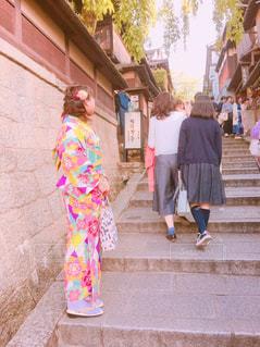 通りを歩く人々 のグループの写真・画像素材[920111]