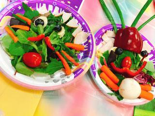 野菜で作ったかおの写真・画像素材[3107634]