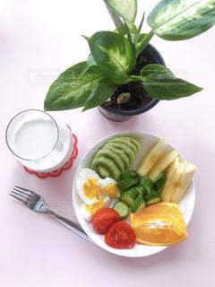 わたしの朝食の写真・画像素材[3198571]