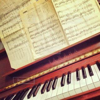 藁半紙の楽譜の写真・画像素材[841759]