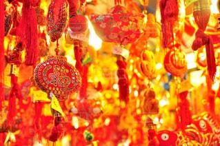 野菜の展示の束が夜ライトアップの写真・画像素材[921478]