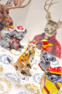 ぬいぐるみの動物のグループの写真・画像素材[934414]