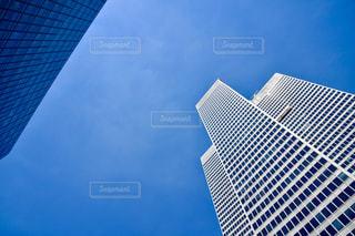カナダで見上げた空の写真・画像素材[1094354]