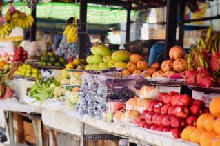 食べ物,マンゴー,オレンジ,フルーツ,果物,市場,果実,ベトナム,東南アジア,マーケット,ホーチミン,ドラゴンフルーツ,食材,バナナ,リンゴ