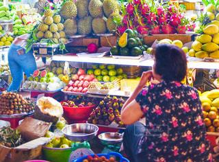食べ物,マンゴー,オレンジ,フルーツ,果物,市場,果実,ベトナム,東南アジア,マーケット,ホーチミン,ドリアン,食材,パパイヤ,ベンタイン市場,マンゴスチン,リュウガン,バンレイシ,ローズアップル