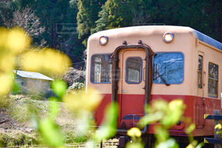鋼のトラックの列車の写真・画像素材[1855541]