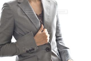 スーツとネクタイを着た男の写真・画像素材[3048918]