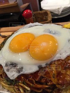 おいしい,お好み焼きにトッピング,卵ってネ申!!,広島風ですよ。
