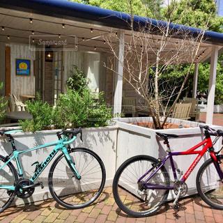 自転車デートの写真・画像素材[685067]