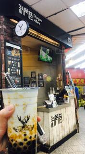 飲み物,台湾,台中,タピオカミルクティー,the alley