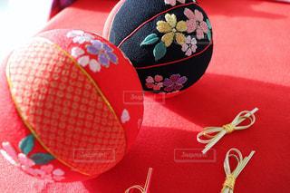 手毬とりぼんの写真・画像素材[1027004]