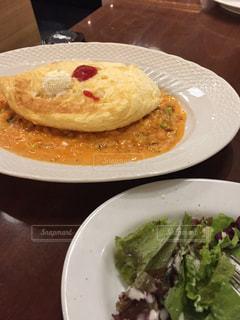 食べ物,ランチ,ふわふわ,美味しい,オムライス,サロン卵と私