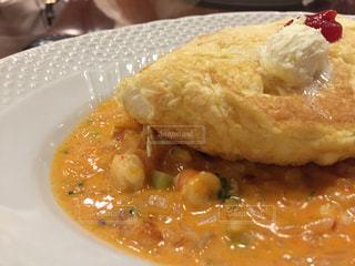 食べ物,ランチ,カラフル,ふわふわ,美味しい,オムライス,サロン卵と私