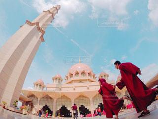 ピンクモスクへ!の写真・画像素材[864053]