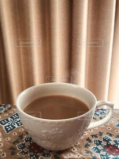木漏れ日,ティーカップ,ミルクティー,ミルクティー色,お気に入りカーテン,ミルクティー色ランチョンマット