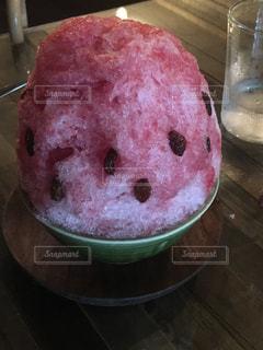夏,スイカ,美味しい,かき氷,冷たい,すいか