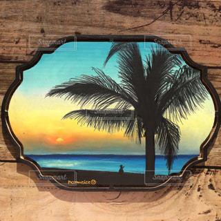 インテリア,看板,アート,景色,黒板,ハワイ,夕景,手書き,フラダンス,フラ,黒板アート,ブラックボード