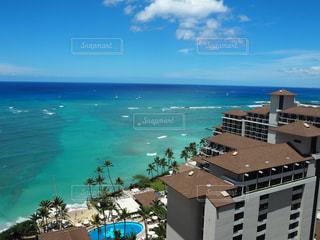海,海外,景色,旅行,ハワイ,ワイキキ,海外旅行