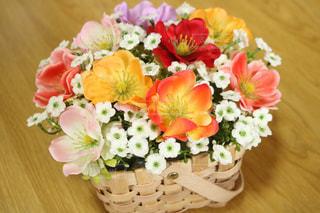 花,フラワーアレンジメント,100均,造花