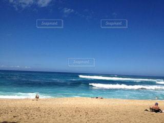 海 綺麗 ハワイ 海外の写真・画像素材[628954]