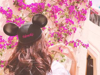 ピンクの花の少女 - No.743168